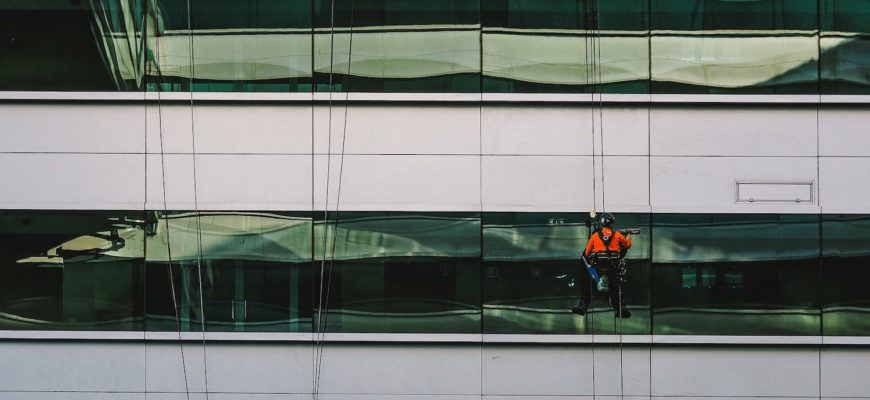 Window Cleaning Equipment to Clean Office Windows