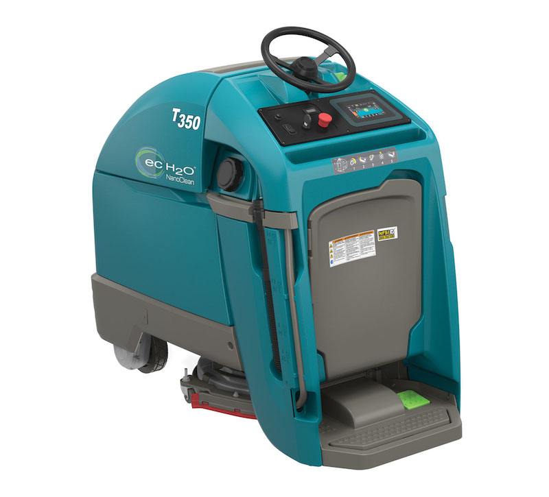 T350 Stand-on Scrubber Product Overview Video