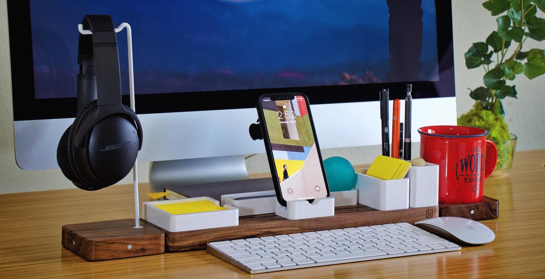 5 Corporate Office and Desk Organization Ideas