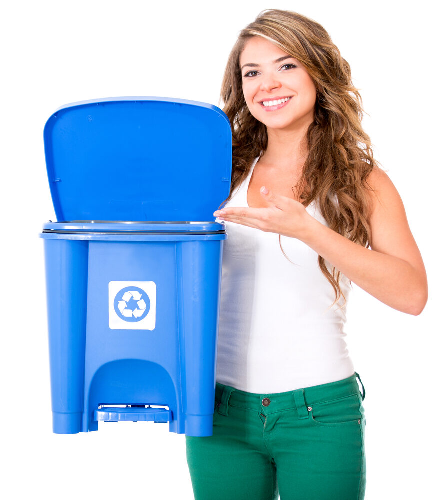 Office Trash Cans: Could it be that Less is Better?