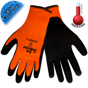 Shop our Ice Gripster High Visibility Gloves. Perfect for winter work.